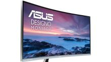 Asus hopes to turn some heads with its new 34-inch curved monitor