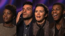 'Star Wars: The Force Awakens' Actors Replay Their Facial Reactions Watching the Movie