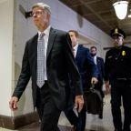 The Latest: White House slams testimony as 'triple hearsay'