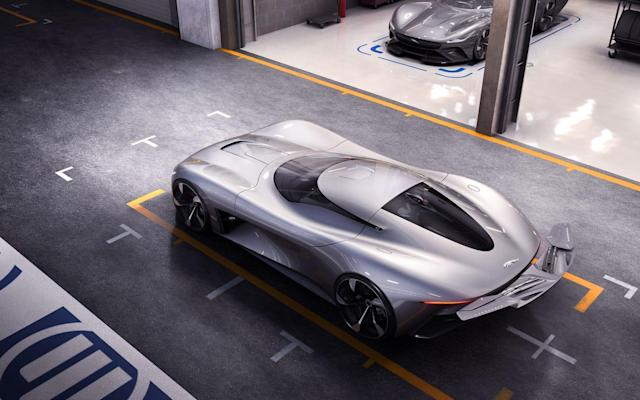 Jaguar's 'first' all-electric hypercar exists only on your PS4