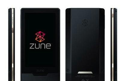 New Zune HD press shots emerge showing black and silver color options, true freedom from ugly