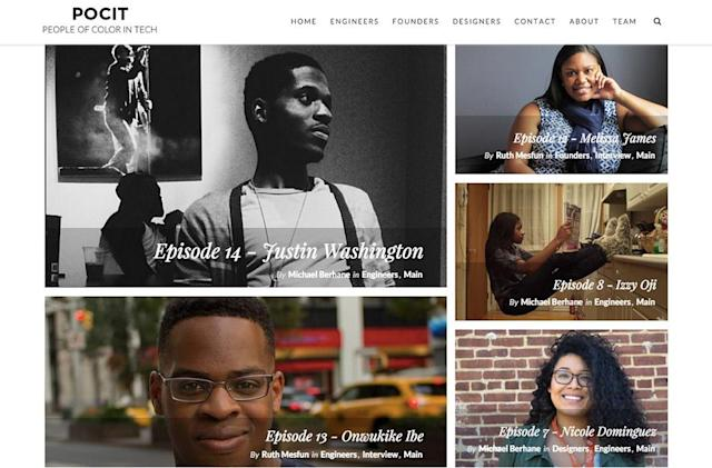 New website showcases profiles of people of color working in tech