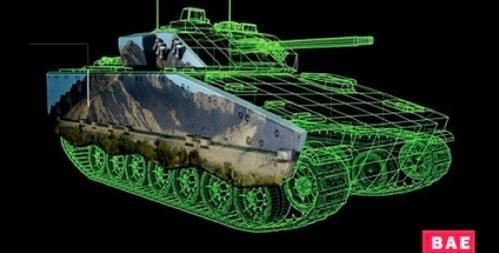 BAE Systems develops e-ink camo for tanks and war zone e-readers