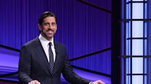 Night 5 of Aaron Rodgers on 'Jeopardy!': The host loosens up, and 'The Office' and sturgeon make it into play