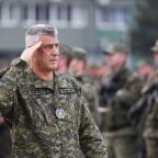 Kosovo says army 'irreversible' ahead of UN meeting