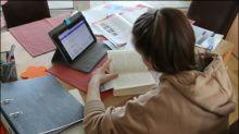 Tägliche Lernzeit deutscher Schüler halbierte sich im Corona-Lockdown