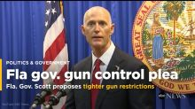 Florida governor proposes new gun sale limits after school shooting