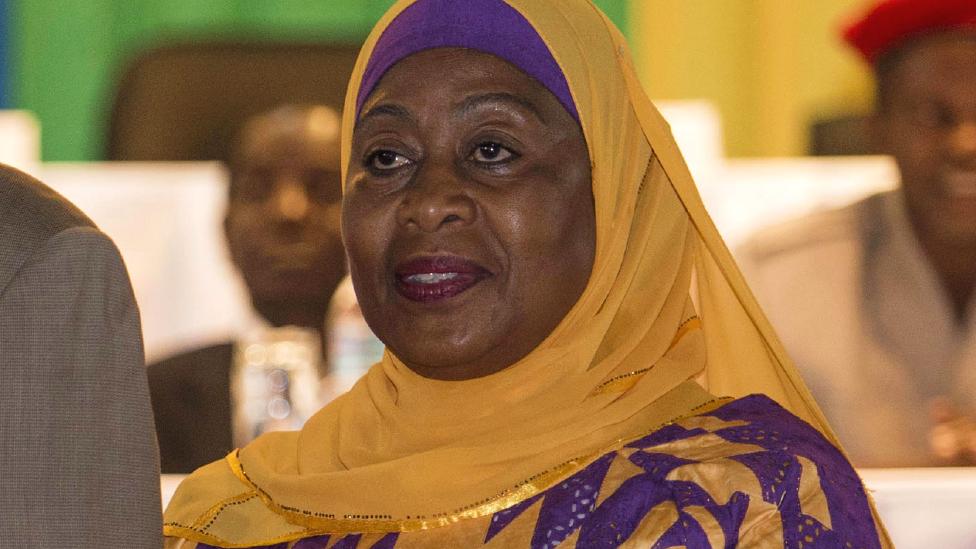 Image Samia Suluhu Hassan - Tanzania's new president