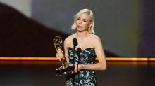 Michelle Williams's Emmy call for equal pay hailed as 'best speech ever'