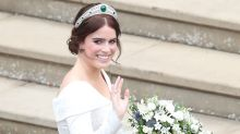 Zac Posen shares never-before-seen photo of Princess Eugenie's second wedding dress - see birthday tribute