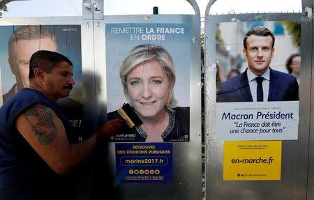 La batalla entre Le Pen y Macron se recrudece