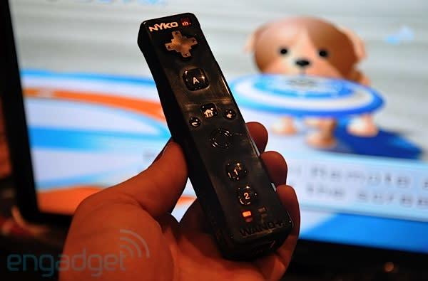 Nyko Wand+ is a full Wii Motion Plus replacement, smashing through screens this March