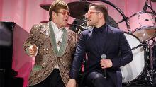 Taron Egerton canta con Elton John ante el estreno de Rocketman y ya olemos un éxito a lo Bohemian Rhapsody