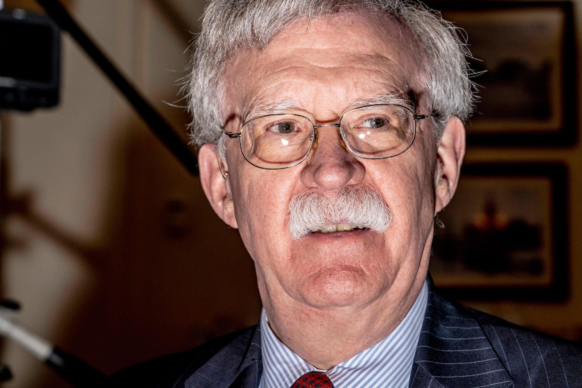 Stop Calling John Bolton a 'Hawk'