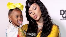 Cardi B's 2-year-old daughter Kulture has a new Instagram. It already has nearly a million followers.