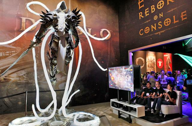 Blizzard has numerous 'Diablo' projects in the works