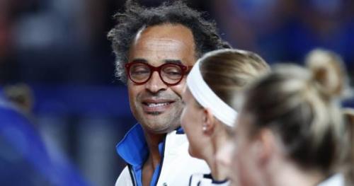 Tennis - Fed Cup - Fed Cup : Yannick Noah parle de «joie partagée» après la victoire en barrages