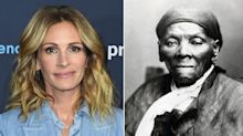 'Harriet' writer says studio boss suggested Julia Roberts for the role of abolitionist Harriet Tubman