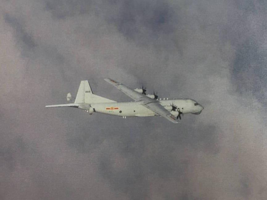 As China ramps up military flights around Taiwan, another quieter mission continues at sea