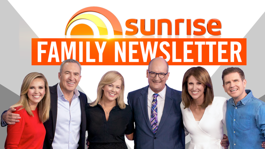 Sign up to receive the Sunrise Family Newsletter
