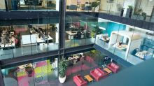From horizontal working pods, to a 'living jungle:' The coolest offices in the UK