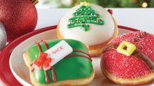 Krispy Kreme Has 3 New Holiday Doughnuts That'll Make Your Mouth Water