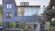 This mega-home conversion in west London combines two houses in one