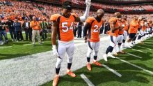 Players react to Trump's comments; linebacker Marshall calls them 'disgusting'