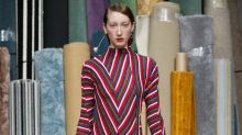 London Fashion Week Looks We Love: Richard Malone Reinventing The Stripe