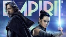 Empire unveils Luke and Rey on its Star Wars: The Last Jedi cover
