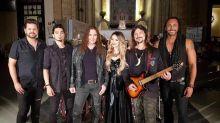 Sandy adota visual 'trevoso' para participação em novo clipe da banda Angra