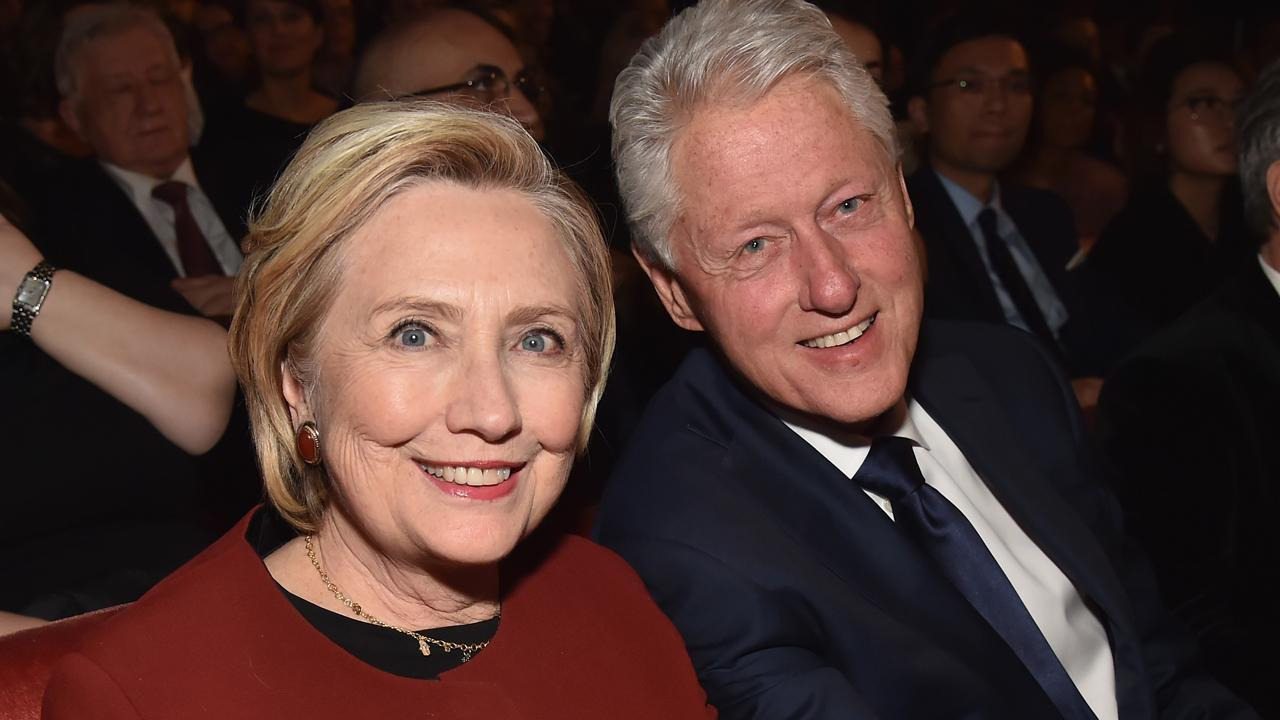 Bill and Hillary Clinton Spotted on Commercial Flight