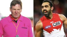 Sam Newman hits out at prize-winning portrait of Adam Goodes