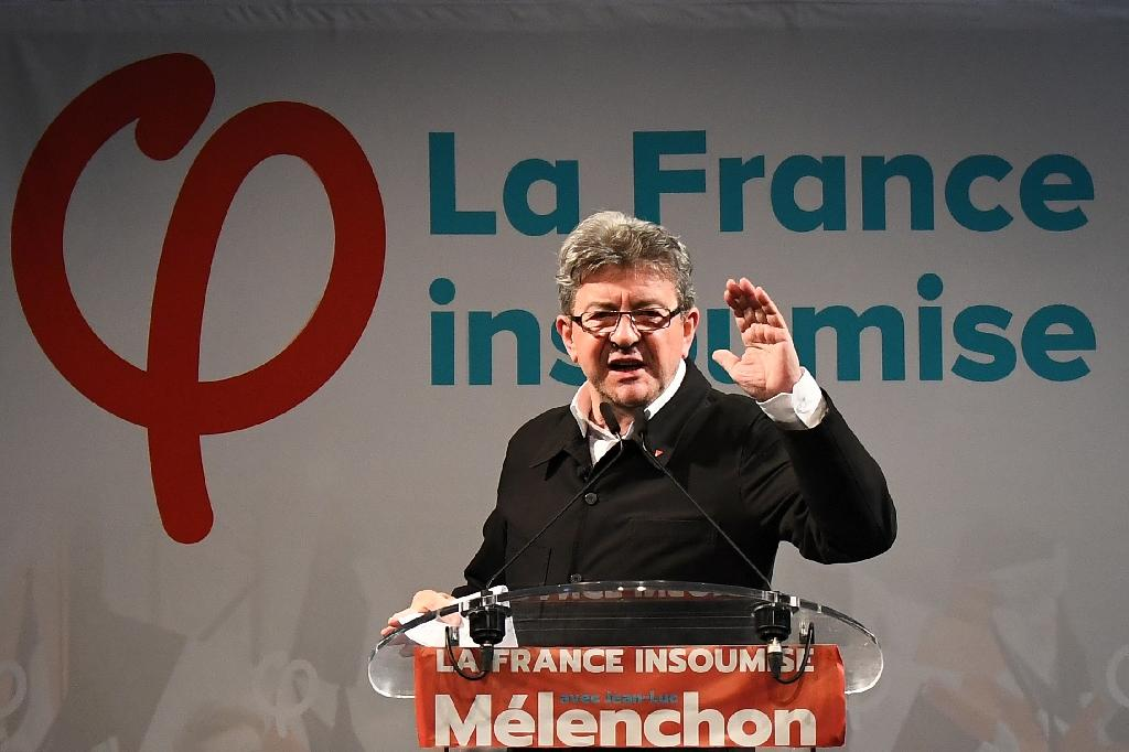 Jean-Luc Melenchon appears to have lost some of the momentum he gained during the presidential election (AFP Photo/Anne-Christine POUJOULAT )