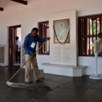 Gandhi's former home gets facelift ahead of Trump's first India visit