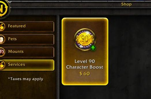 The math and the money of level 90 boosts