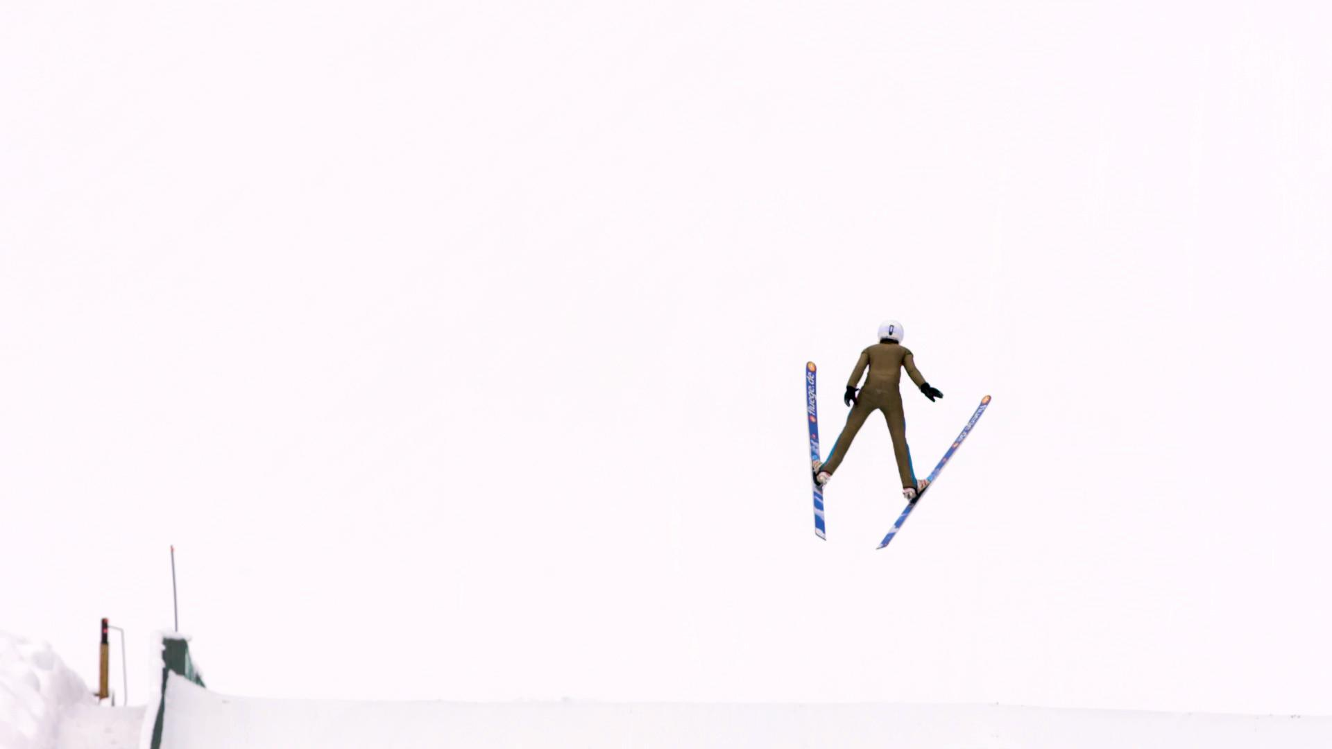 Flying Off Mountains With an Olympic Ski Jumper Video