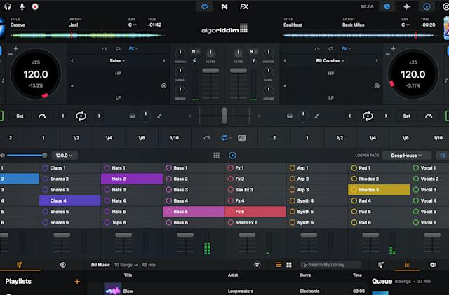 Djay Pro AI for Mac's latest update takes advantage of Apple's M1 chip