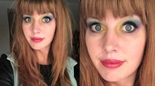 A science professor is going viral for turning her makeup into a chemistry lesson
