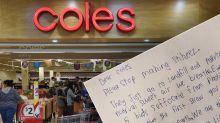 'Please stop': Little boy's desperate plea to Coles about Stikeez