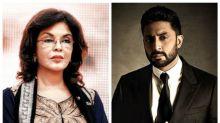 When Abhishek Bachchan asked Zeenat Aman if he can sleep with her!
