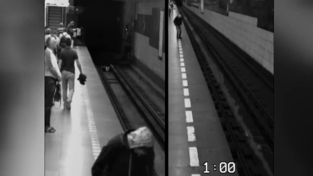 Woman survives fall under train in the Czech Republic