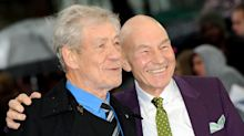 Taylor Swift Loves Ian McKellen and Patrick Stewart