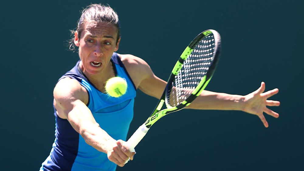 Schiavone reaches first final in 14 months