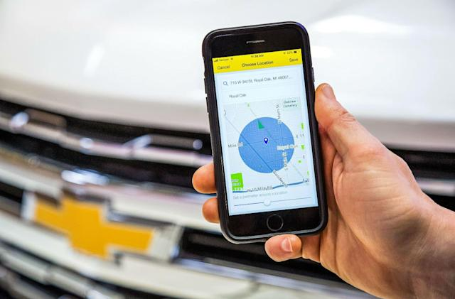 Chevrolet finally adds 'find my car' to its app