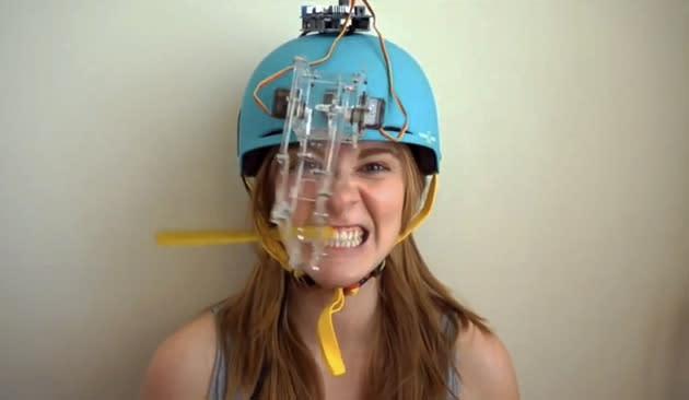 DIY-Zahnputzmaschine funktioniert nicht, ist toll (Video)