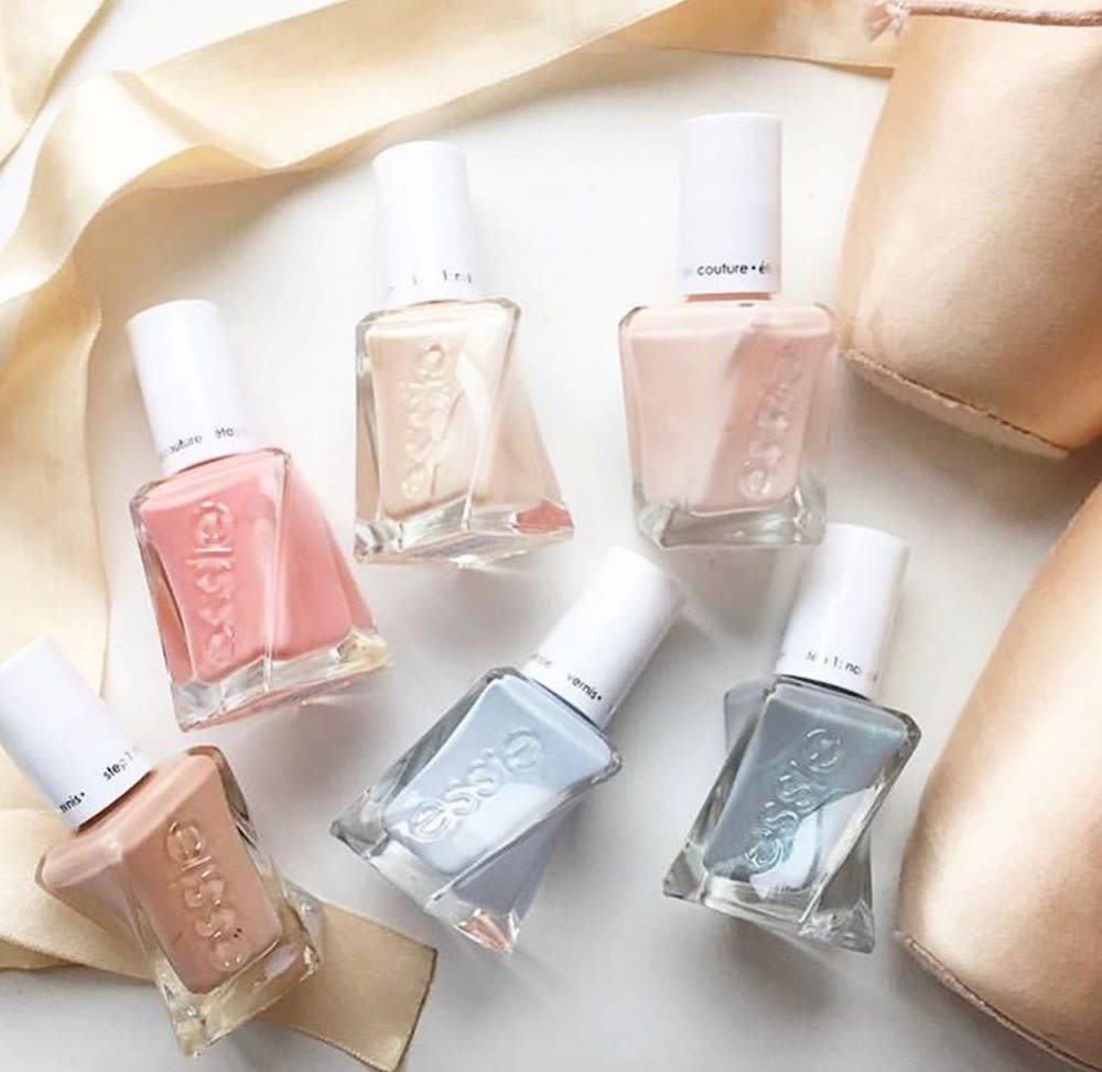 Essie's New Ballerina-inspired Gel Nail Polish Collection