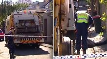 Garbage truck driver charged after man sleeping on mattress killed