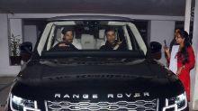 Karan Johar Goes For a Drive In Sidharth Malhotra's New Land Rover Range Rover SUV - See Pics