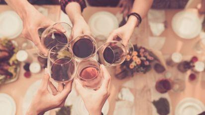 As taças de vinho foram aumentando de tamanho lentamente - assim como o nosso consumo de álcool